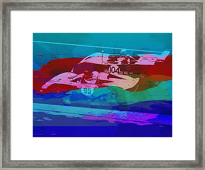 Competition Framed Print by Naxart Studio
