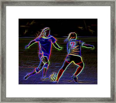 Competition Framed Print by Kelley King