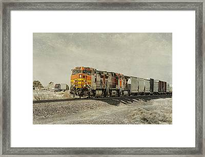 Competitors Framed Print by Jim Thompson