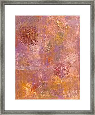 Complementary Framed Print by Delona Seserman