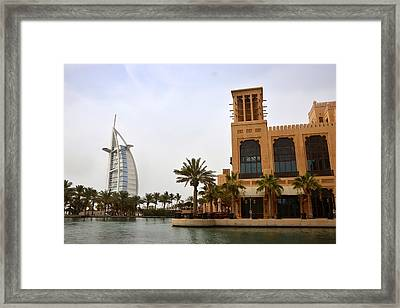 Complementing Framed Print by Farah Faizal