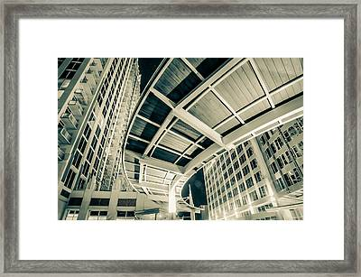 Framed Print featuring the photograph Complex Architecture by Alex Grichenko