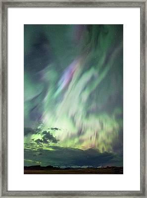 Complex Aurora Framed Print