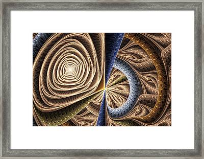 Complexity Framed Print