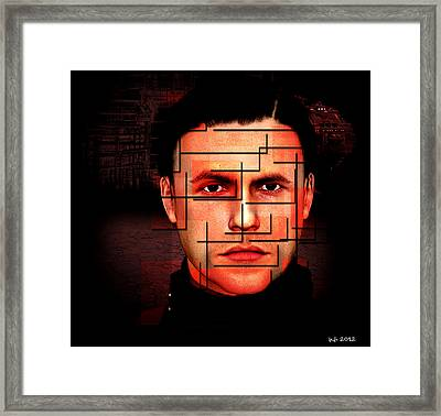Complicated Sean Framed Print