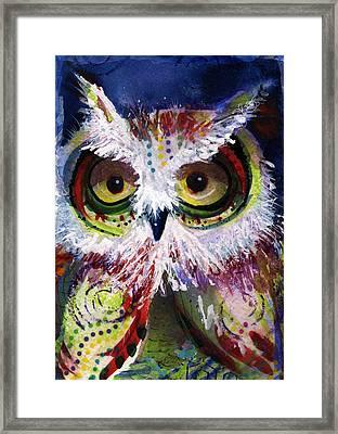 Complimentary Owl Framed Print