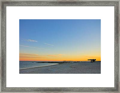 Compo Beach Framed Print