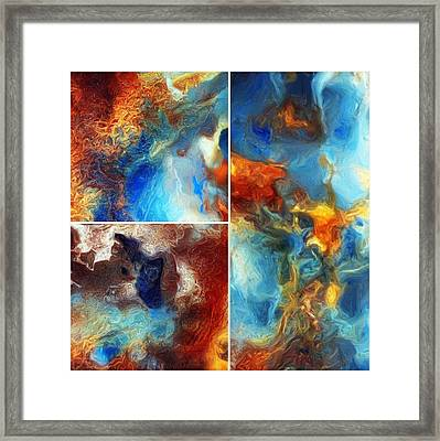 Composer Framed Print by Tom Druin