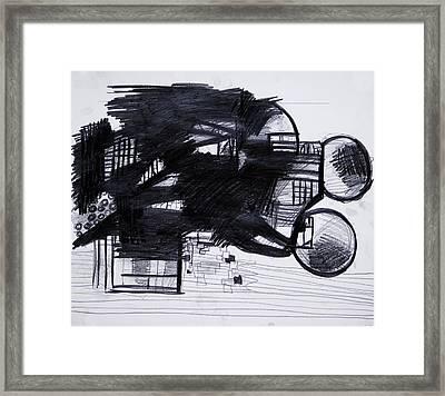 Composition 10  Framed Print