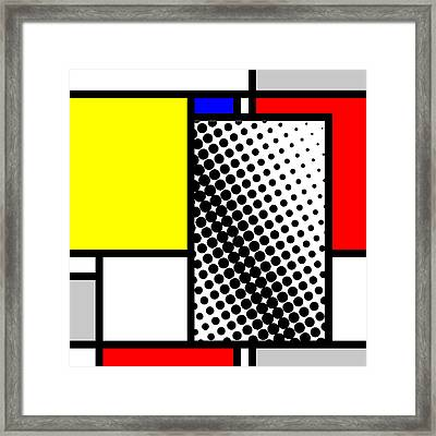 Composition 116 Framed Print