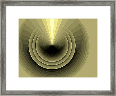 Composition 120 Framed Print by Terry Reynoldson