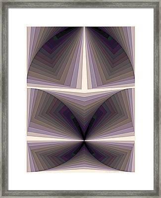 Composition 154 Framed Print by Terry Reynoldson