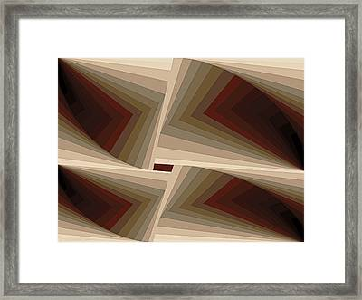 Composition 162 Framed Print
