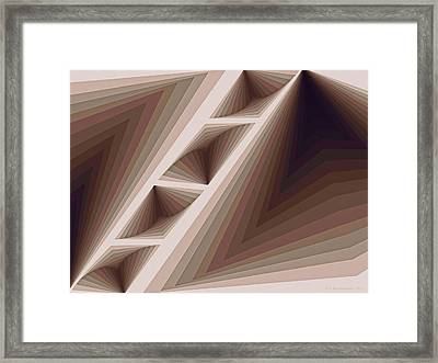 Composition 165 Framed Print by Terry Reynoldson
