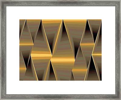 Composition 168 Framed Print