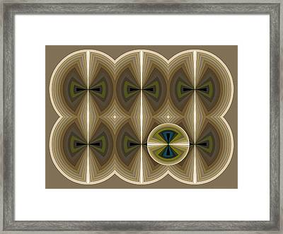 Composition 181 Framed Print by Terry Reynoldson