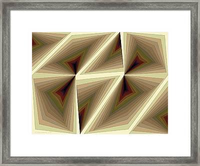 Composition 193 Framed Print