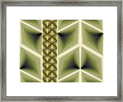 Composition 231 Framed Print by Terry Reynoldson