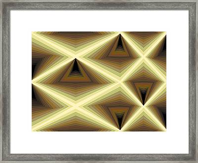 Composition 232 Framed Print by Terry Reynoldson