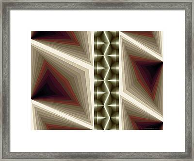 Composition 235 Framed Print by Terry Reynoldson