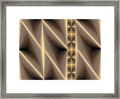 Composition 236 Framed Print by Terry Reynoldson