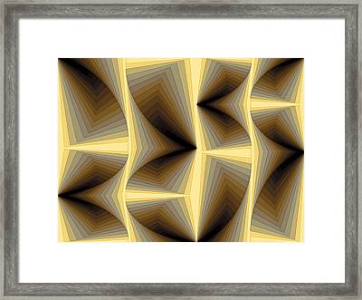 Composition 252 Framed Print by Terry Reynoldson