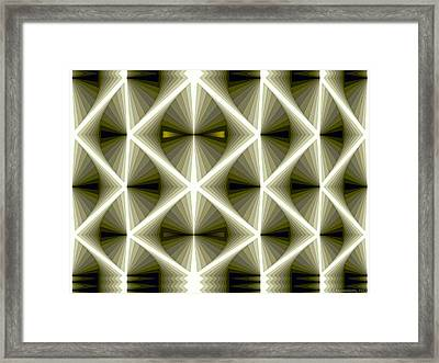 Composition 266 Framed Print by Terry Reynoldson