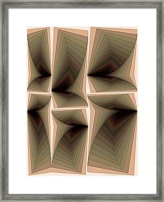 Composition 282 Framed Print by Terry Reynoldson