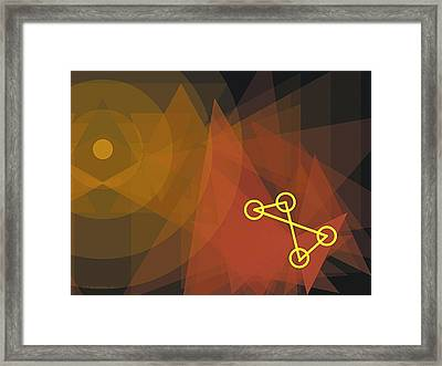 Composition 30 Framed Print by Terry Reynoldson