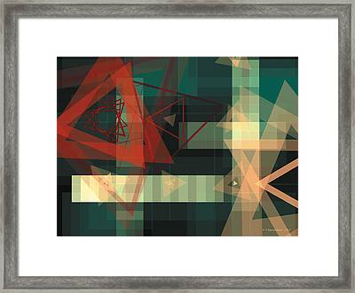 Composition 36 Framed Print by Terry Reynoldson
