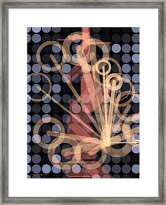 Composition 41 Framed Print by Terry Reynoldson
