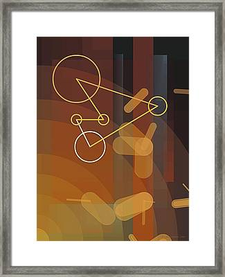Composition 50 Framed Print by Terry Reynoldson
