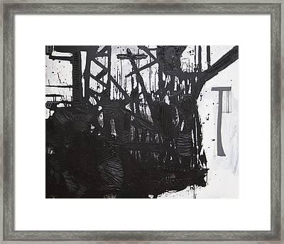 Composition 6  Framed Print
