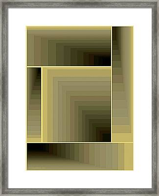 Composition 71 Framed Print