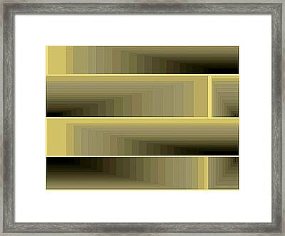 Composition 79 Framed Print by Terry Reynoldson