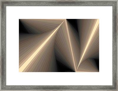 Composition 93 Framed Print by Terry Reynoldson