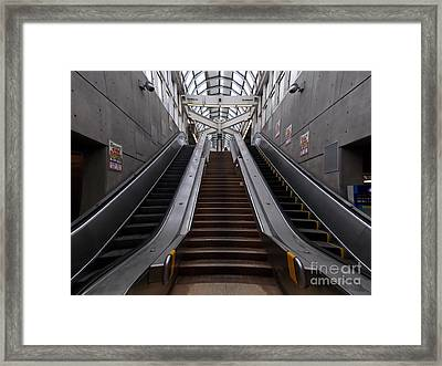 Composition Framed Print by Irfan Gillani