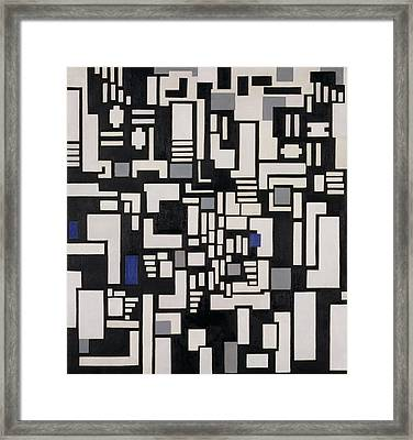 Composition Ix Framed Print by Theo Van Doesburg