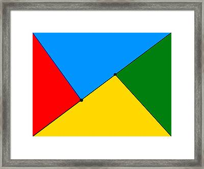Composition-p1 Framed Print by Anand Swaroop Manchiraju