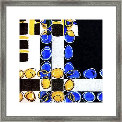 Composition Study 2 Framed Print by Carol Leigh