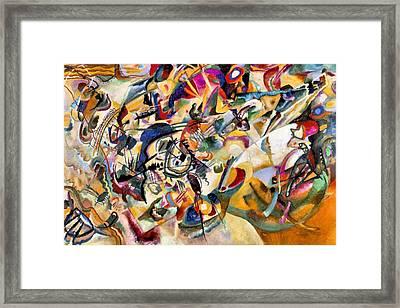 Composition Vii  Framed Print