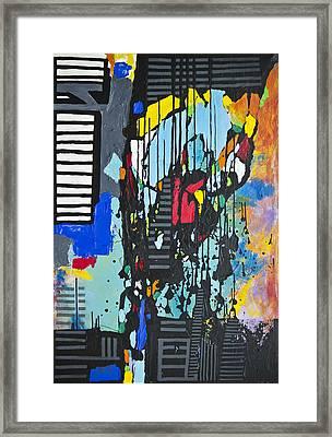 Composition11  Framed Print