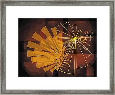 Composition16 Framed Print by Terry Reynoldson
