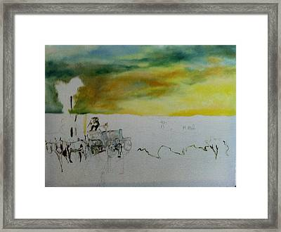Composition2 Framed Print