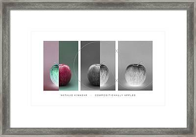 Compositionally Apples Framed Print by Natalie Kinnear