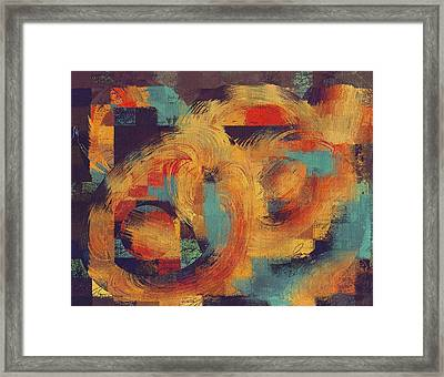 Composix - 033100100ac2t Framed Print by Variance Collections