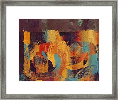 Composix - 033100100act Framed Print