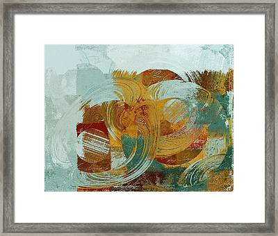Composix - 100x03a Framed Print by Variance Collections