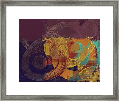 Composix - 164164100a2t1 Framed Print by Variance Collections