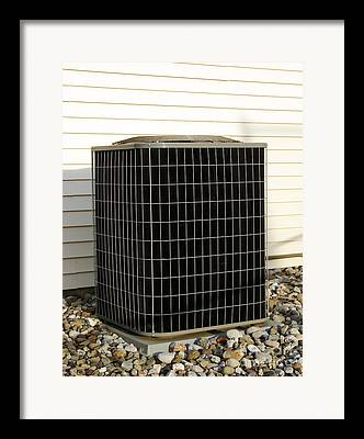 Air Conditioner Framed Prints